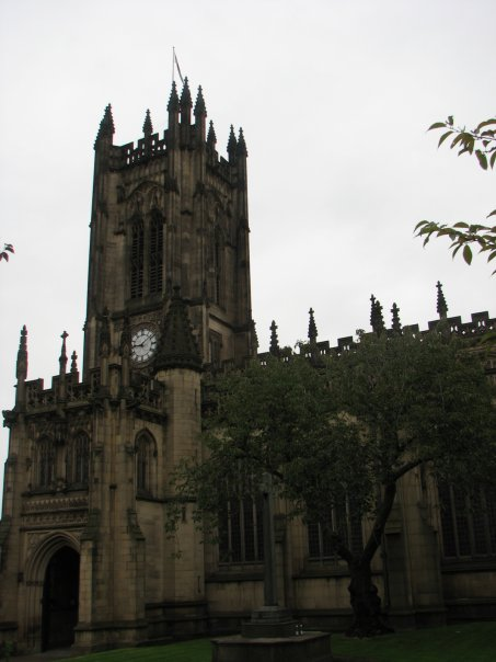 Градската катедрала в Манчестър