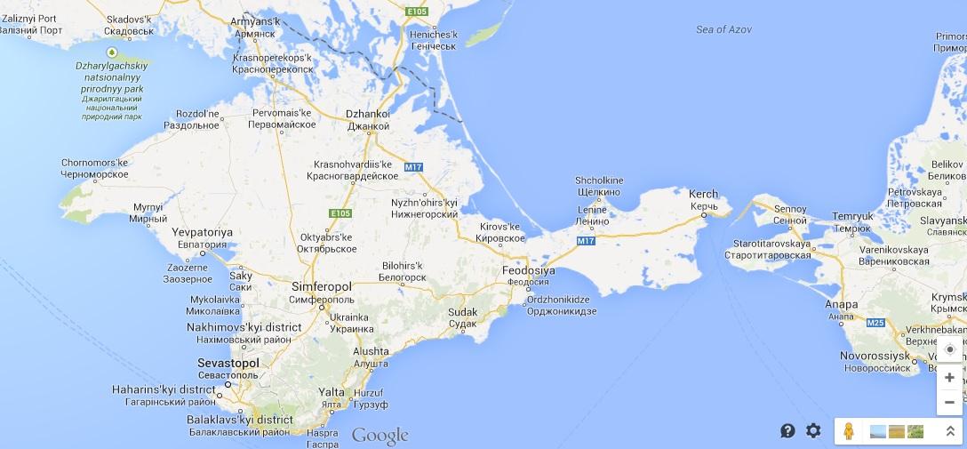 Google Maps Promeni Kartata Si Na Evropa Geograf Bg