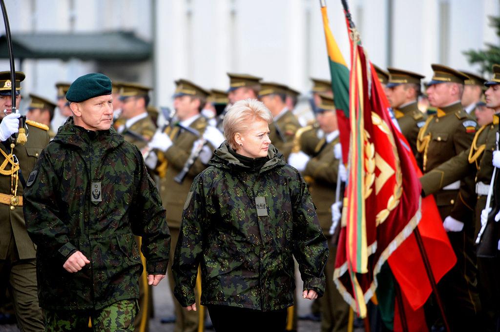 Президентът на Литва - Далия Грибаскайте