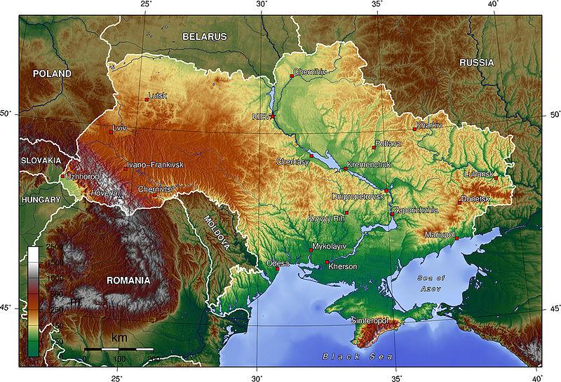 Ukrajna Edna Drzhava Dve Nacii Geograf Bg