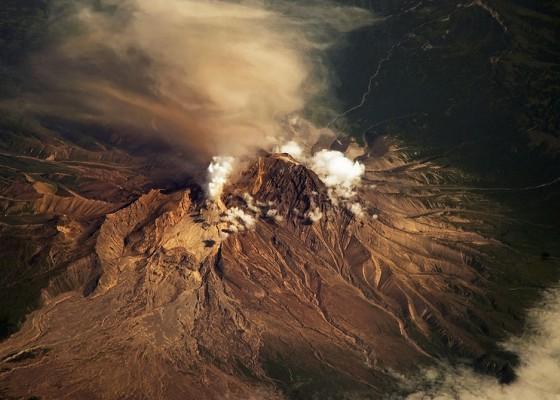Вулканът през 2010 година