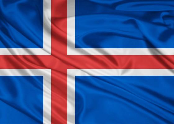 Знамето на Исландия