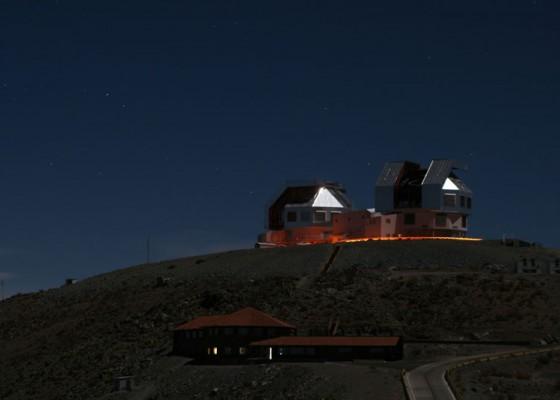 Телескопът Магелан в Чили
