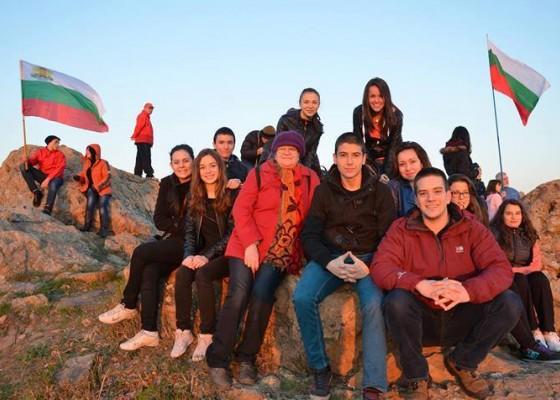 С ученици на Зайчи връх