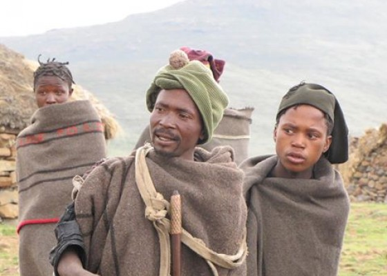 Жители на Лесото