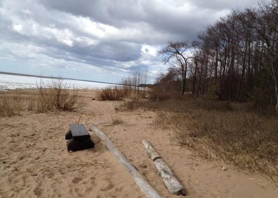 На брега при Комарово